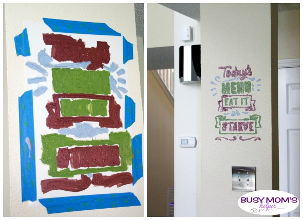 Decorating with Stencils #ad #stencilrevolution #stencils #homedecorating #homediy #diy #paint #craft #homeproject