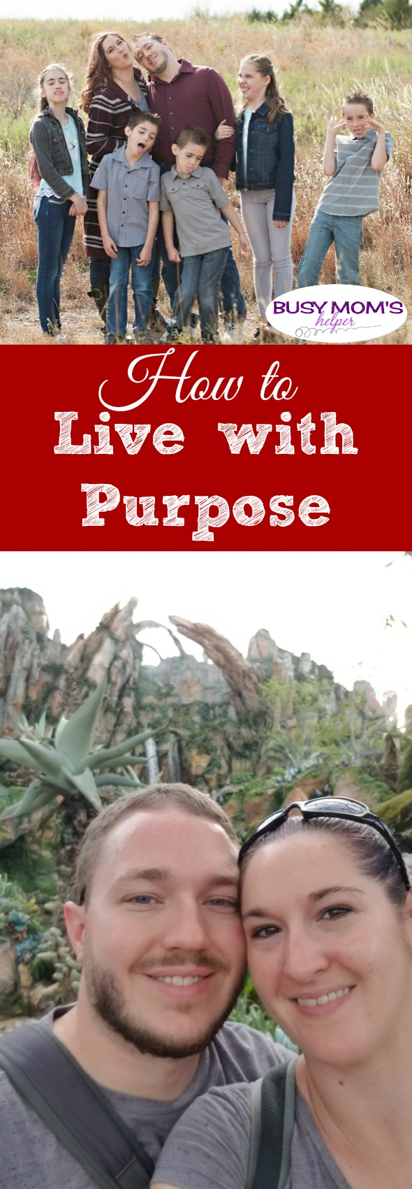 How to Live with Purpose #parenting #mom #lifehelp