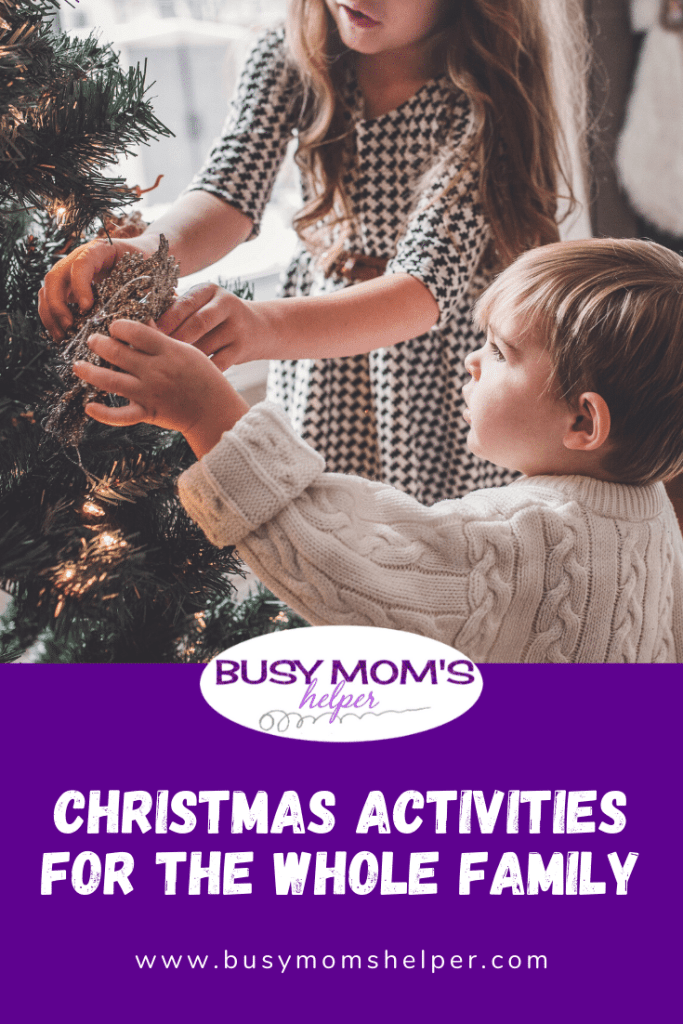 Christmas Activities for the Whole Family