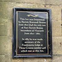 The Black Bull and its connection with Branwell Bronte