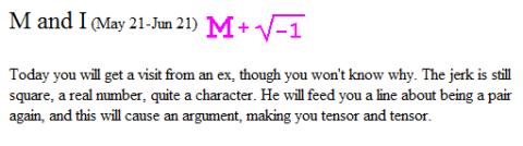 mathematical-horoscope