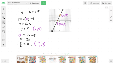 image of math problem with graph