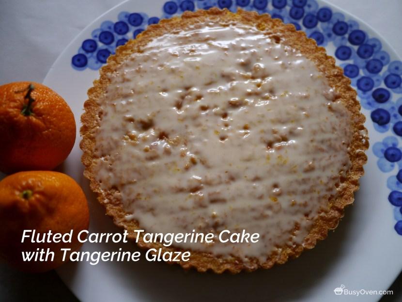 Carrot Tangerine Cake