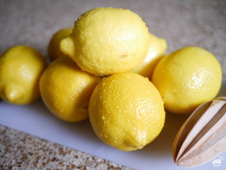Lemons for Raspberry-Lemon Squares
