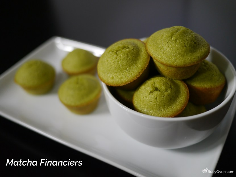 Matcha Financiers