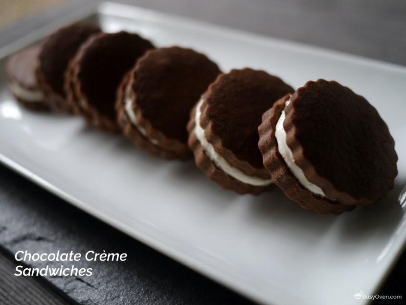 Chocolate Crème Sandwiches