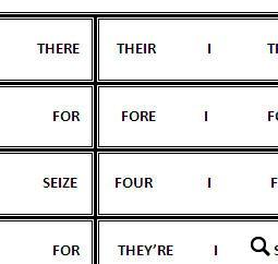 16 Free Homonyms Worksheets