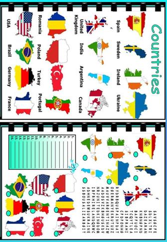 All Worksheets Countries Of The World Worksheets