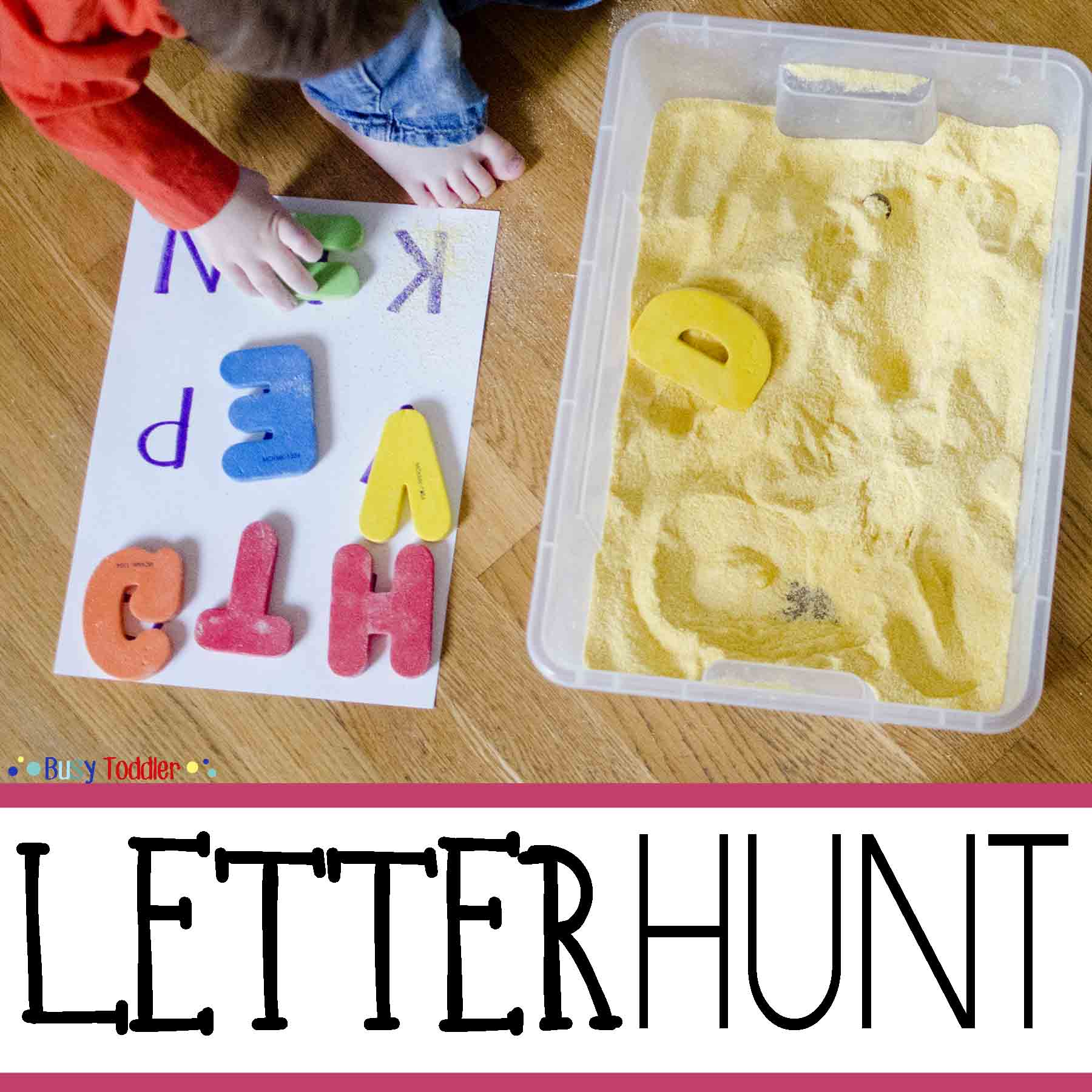 Letter Hunt For Early Literacy
