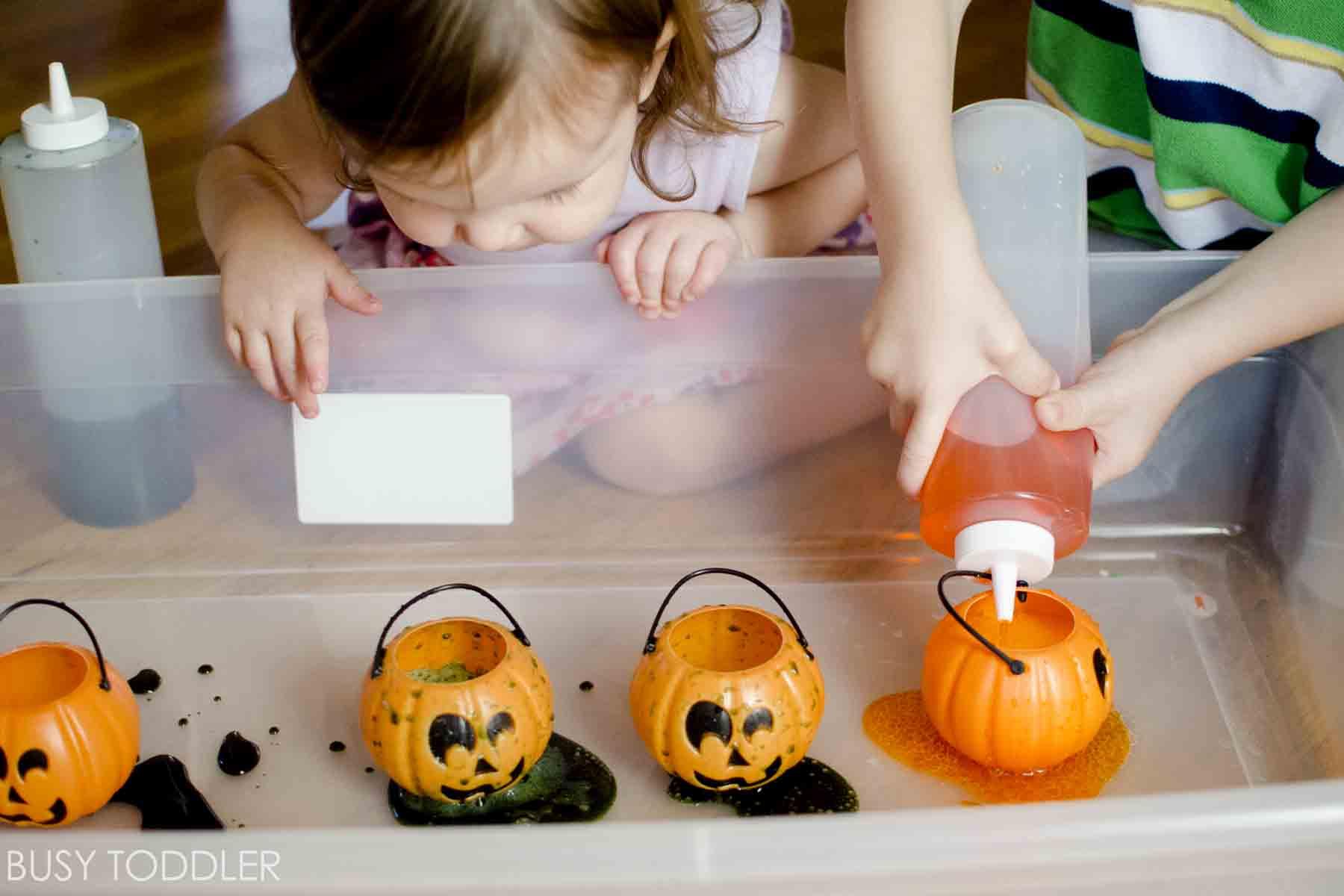 Pumpkin Fizz Halloween Science Activity