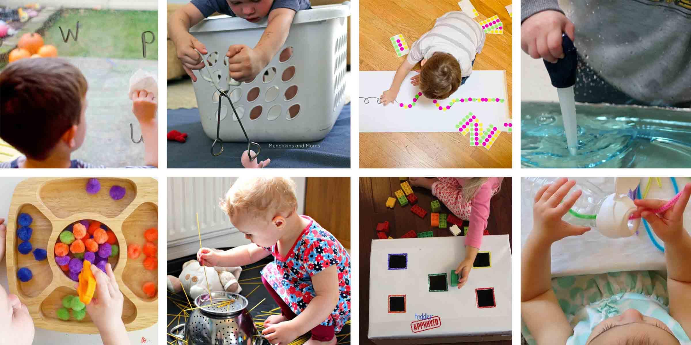 40 Super Easy Toddler Activities