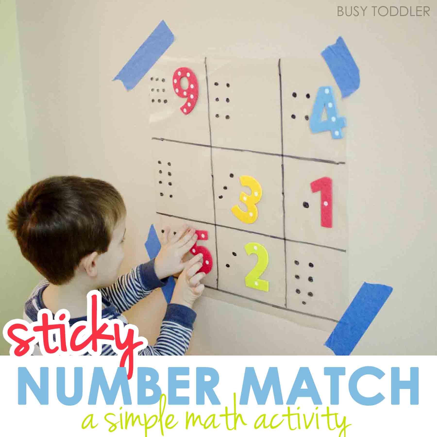Sticky Number Match