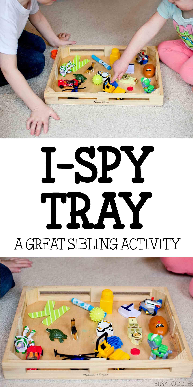 I Spy Tray Activity