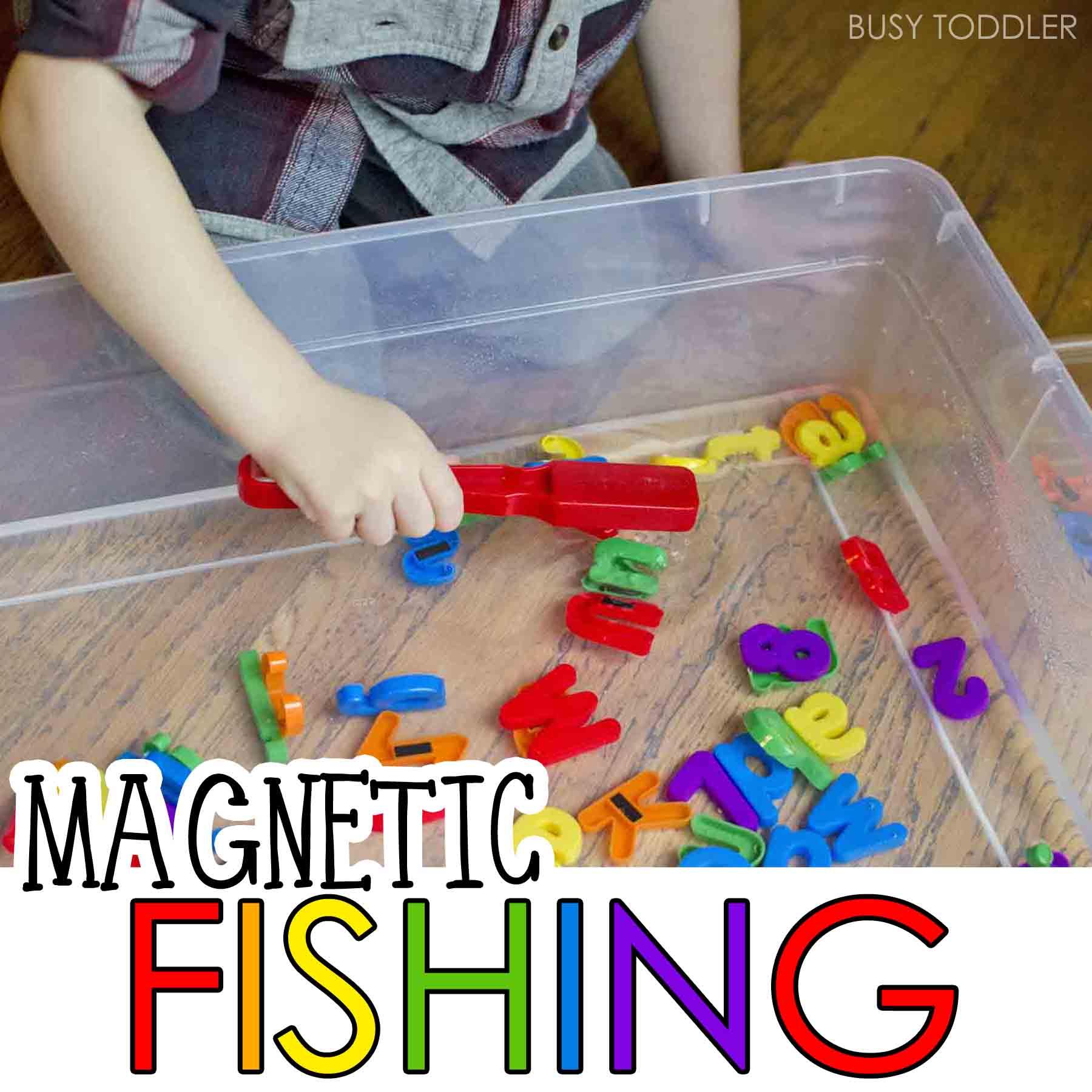 Magnetic Alphabet Fishing