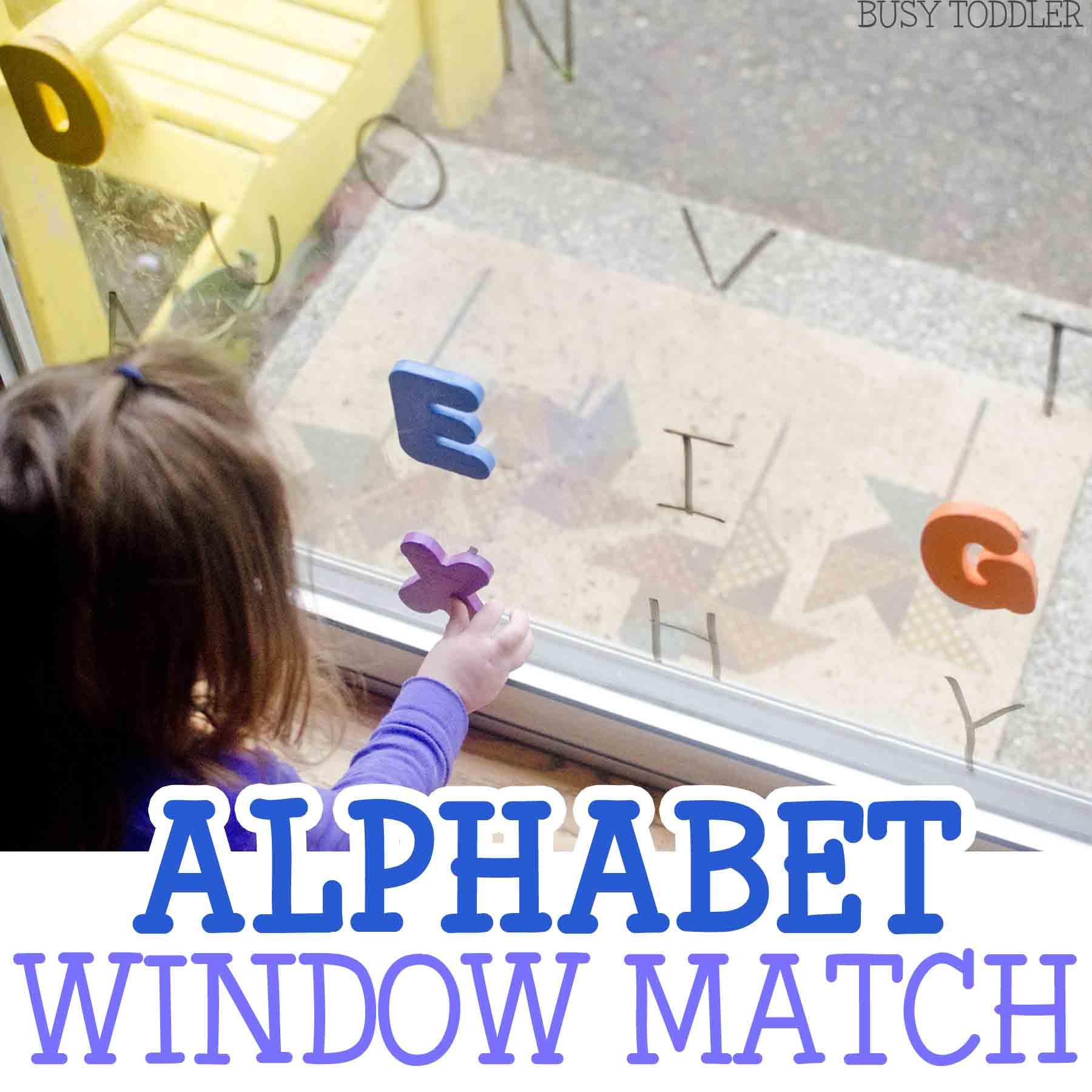 Alphabet Window Match