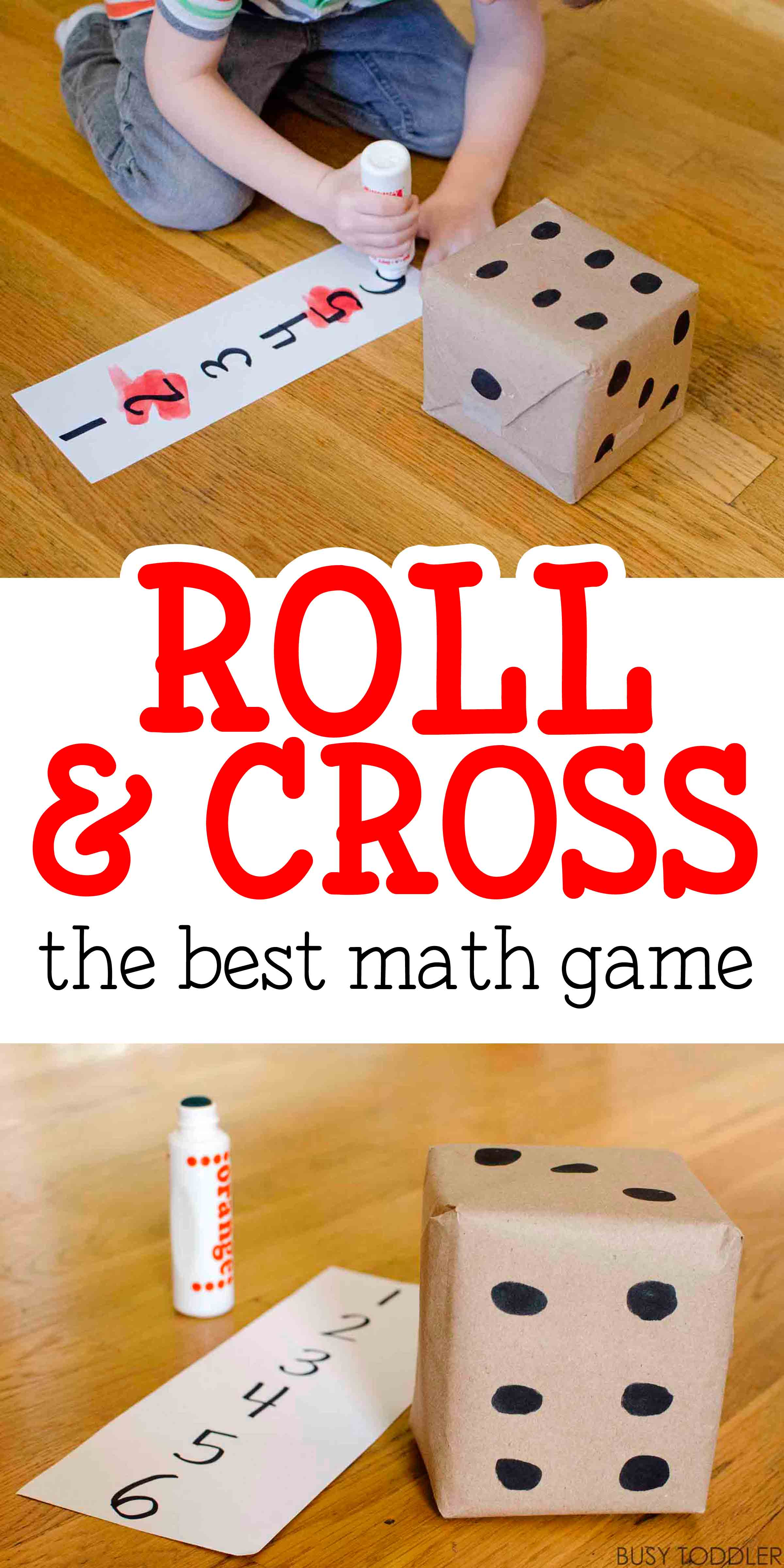 Roll Amp Cross Math Game