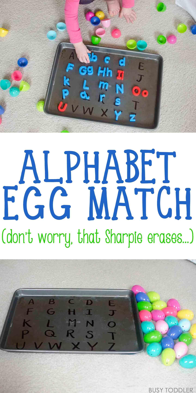 Abc Easter Egg Match