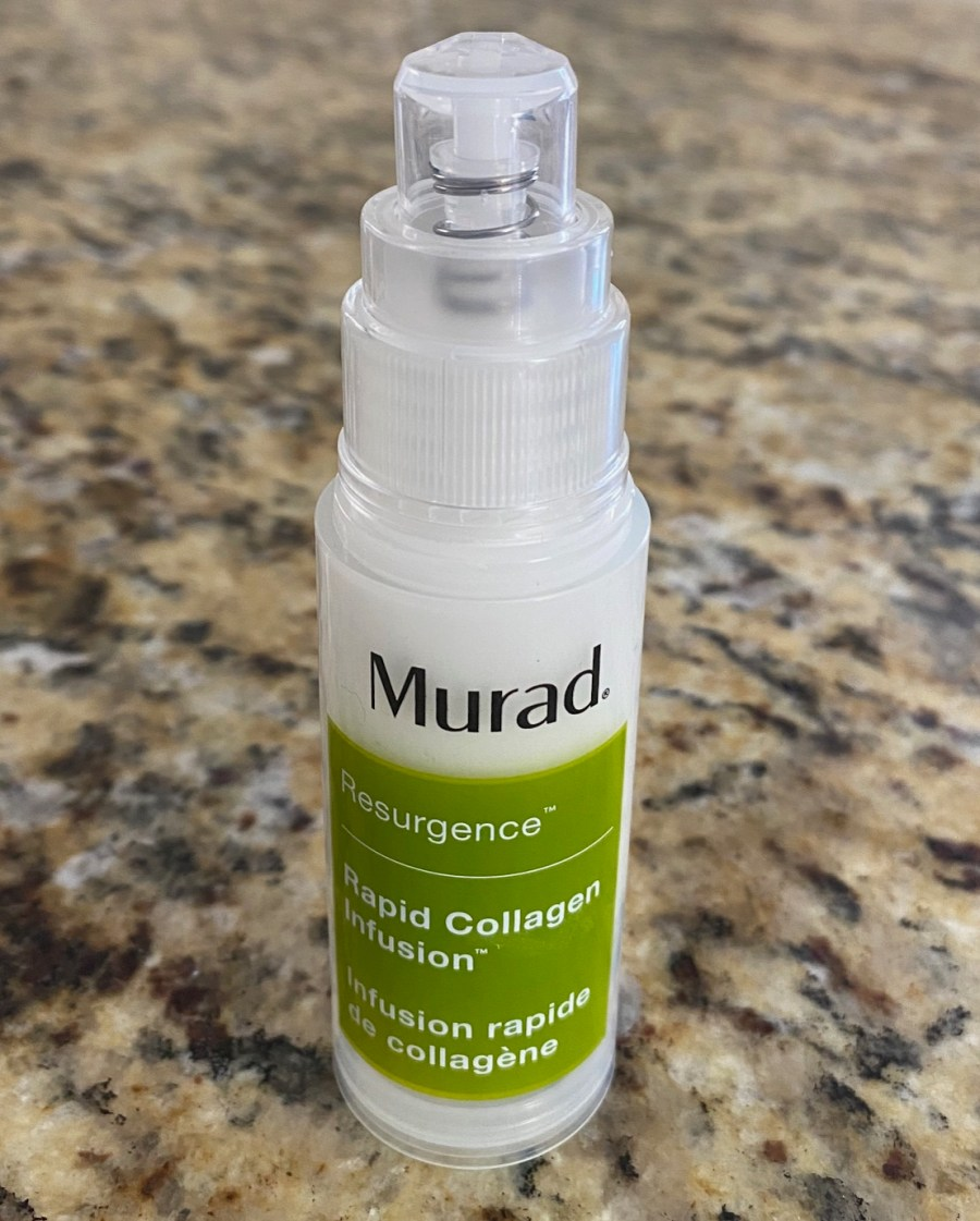 Murad-Resurgence-Rapid-Collagen-Infusion-Beauty-Product-Review-Dark-Skin-Care-Black-Yoga-Mother