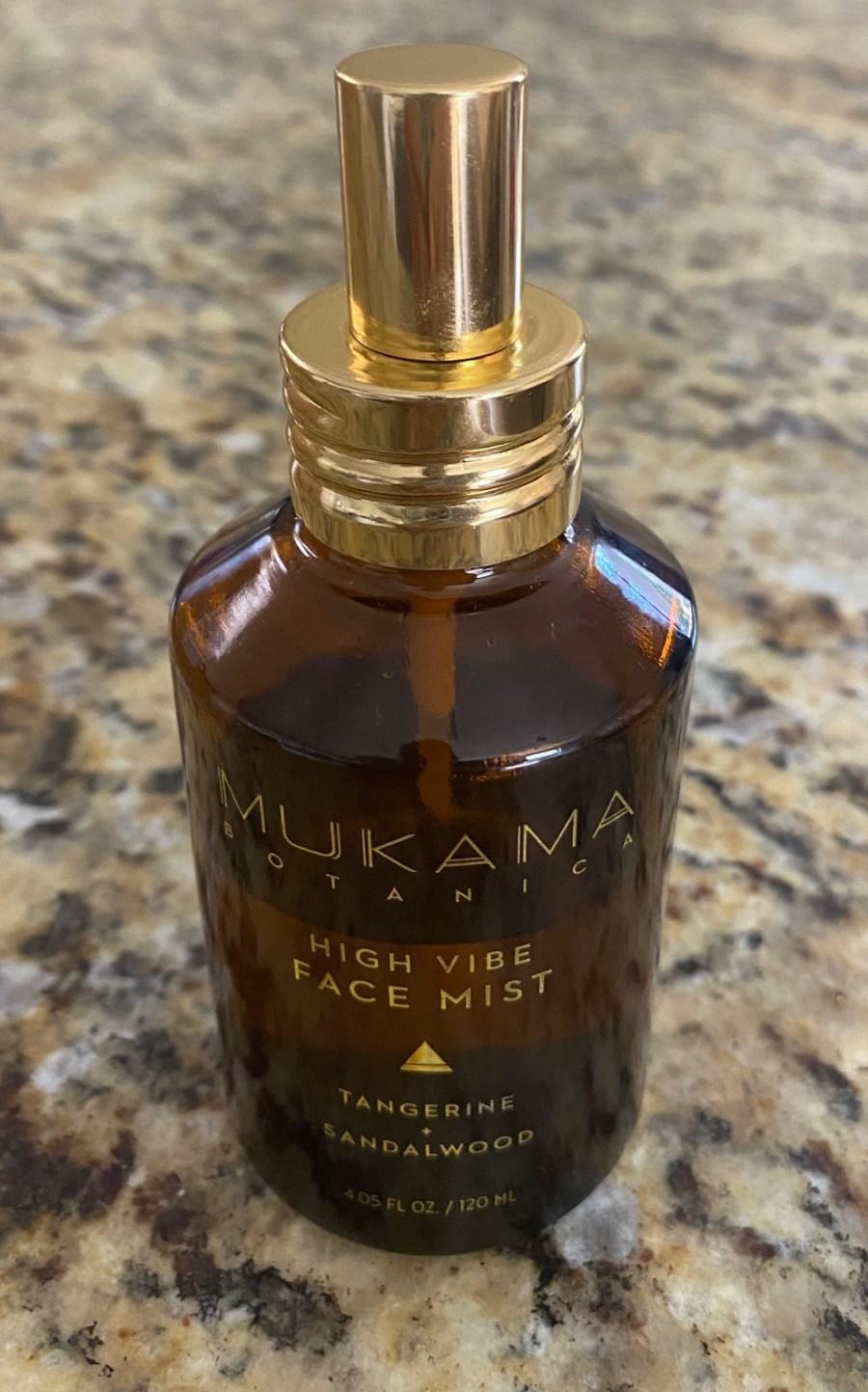 Mukama-Botanica-High-Vibe-Face-Mist-Tangerine-Sandalwood-Product Reviews-Black-Yoga-Instructor-Busy-Yoga-Mother-Blog