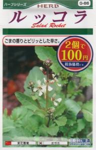 100均の種『ルッコラ』 コスト: ¥54