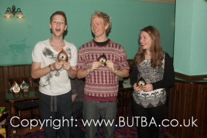 Freshers Event - Nottingham Trios 2013