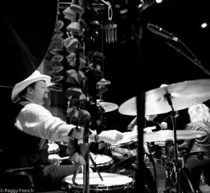 Backbeat AF - Lu show... photo: Peggy French