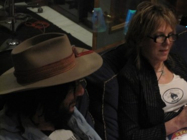 Don Was, Lucinda Williams at Capitol Records Blessed sessions (June 2010)