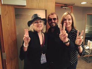 Peace, love, understanding... Lu, Ringo, Barbara