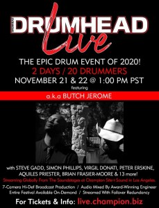 Drumhead Live 2020 with Butch Norton