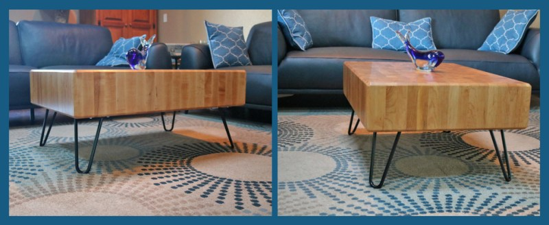 Butcher Block coffee table