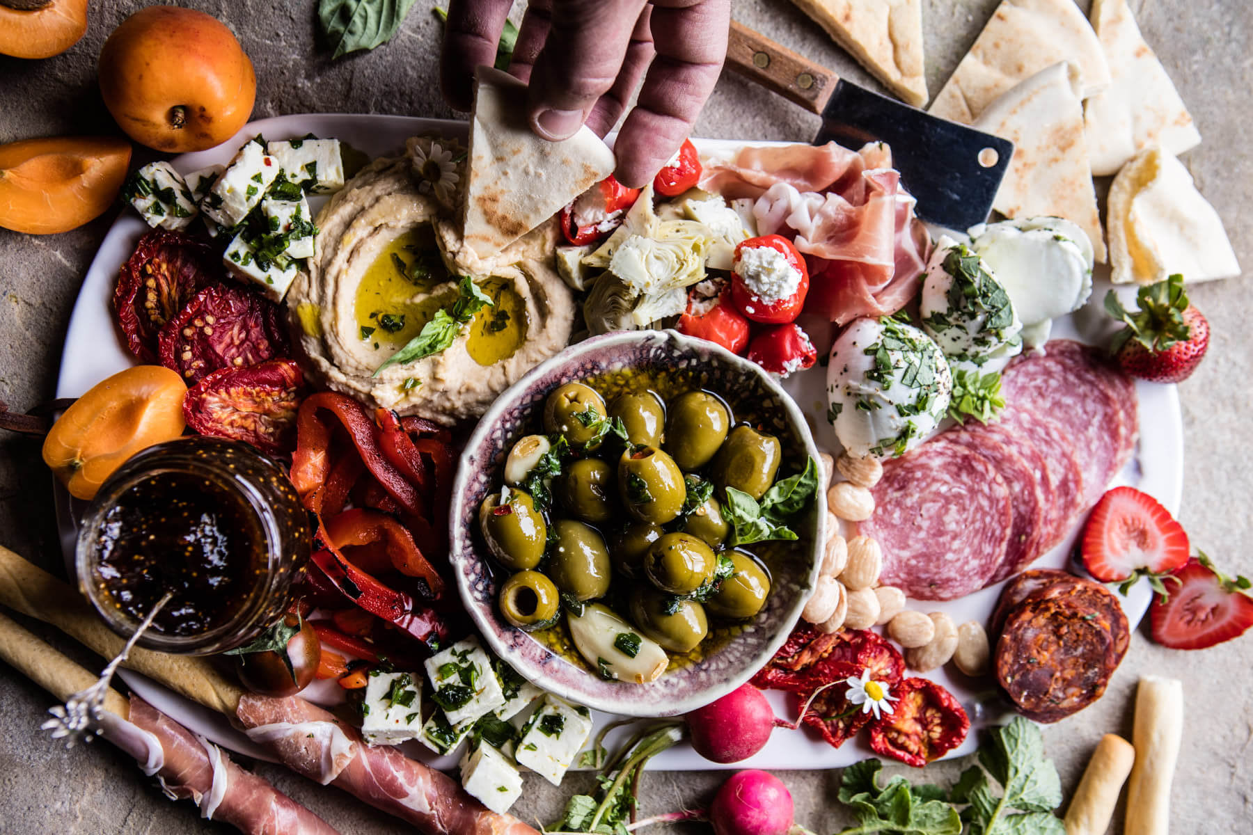Spring Antipasto Platters And Appetizers Butcher Boy