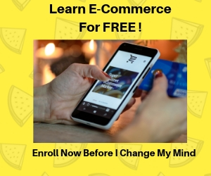 E-Commerce Course For FREE