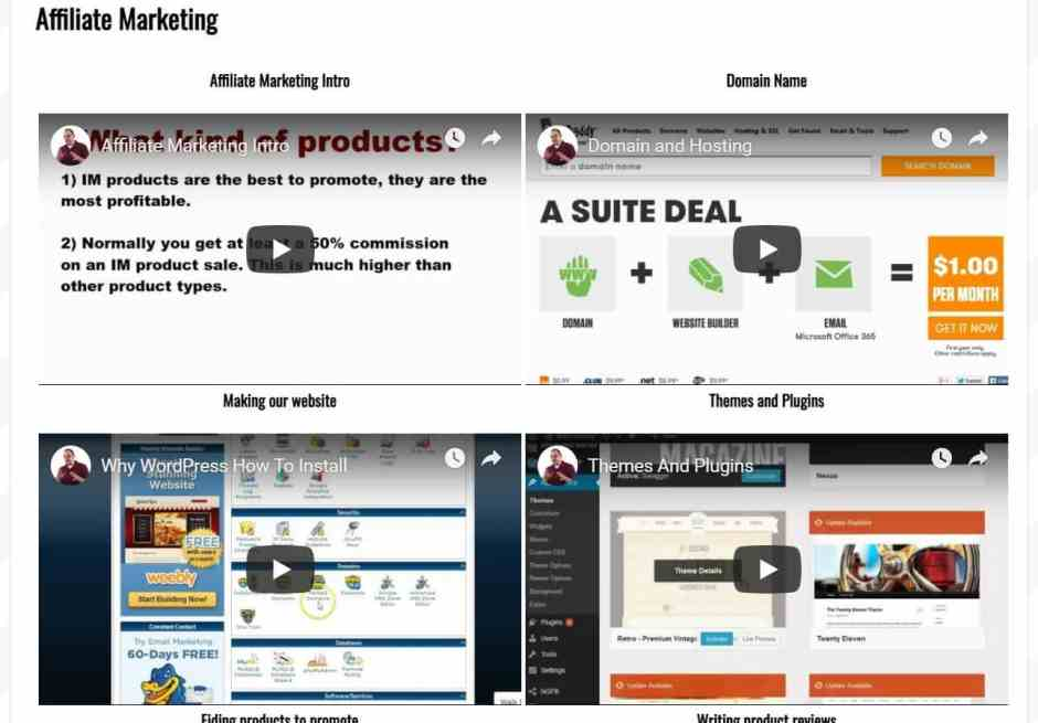 Additional Training Affiliate Marketing Secrets