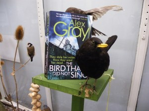 Blackbird and The Bird That Did Not Sing by Alex Gray at Bute Noir