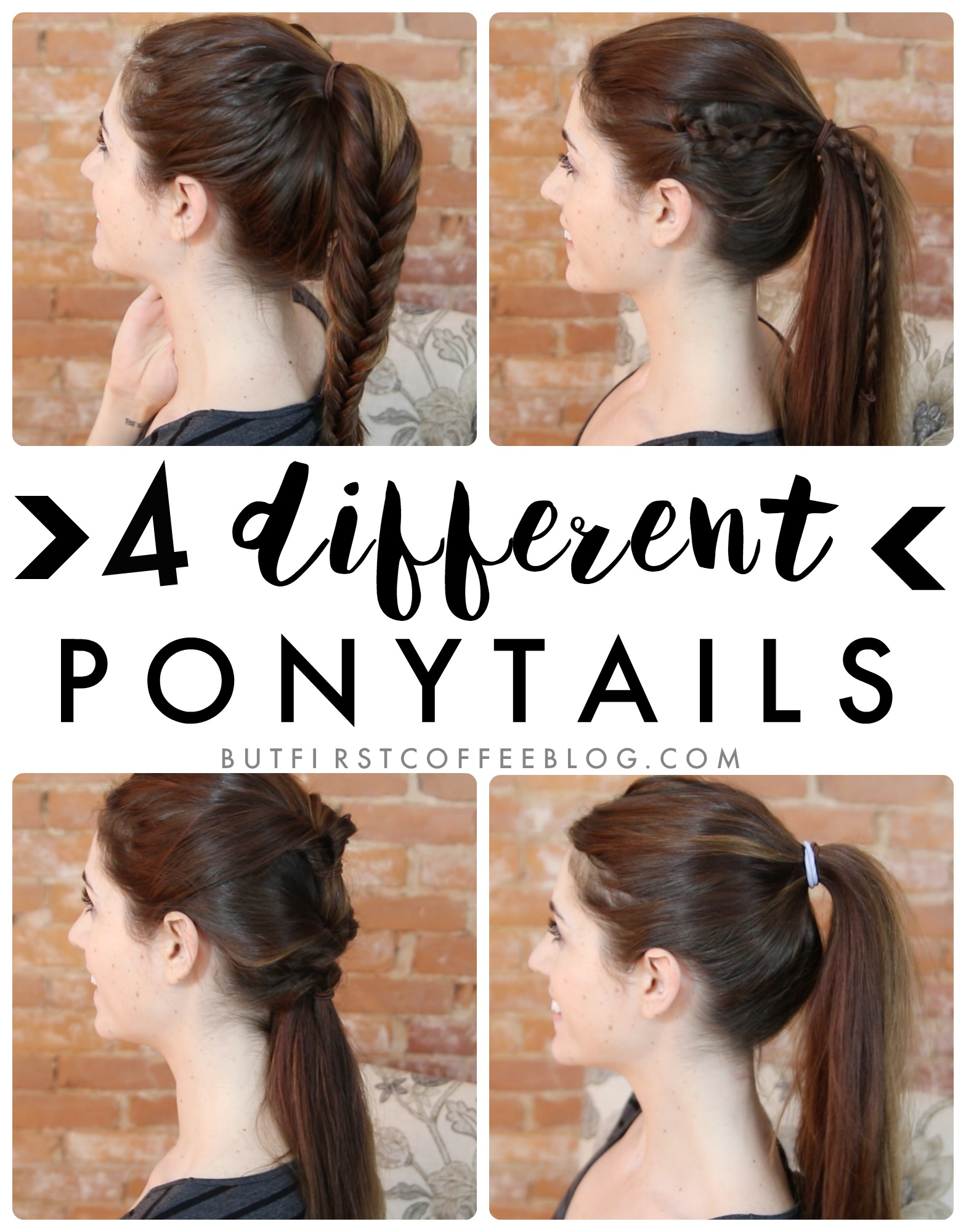 Different Ponytail Style Ideas