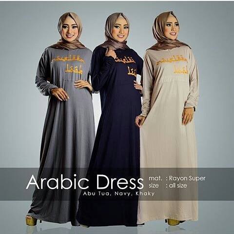 gamis-arabic-dress