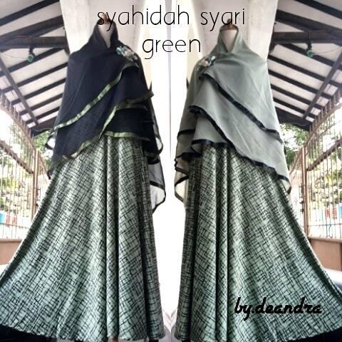 photo asli syahidah syari green