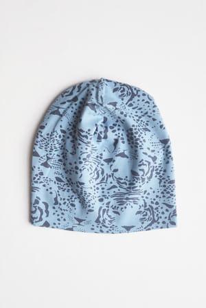 KERSTIN-beanie-print-blue