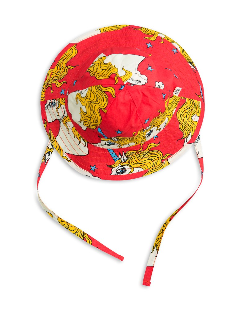 1716511742 mini rodini unicorn star sun hat red 1