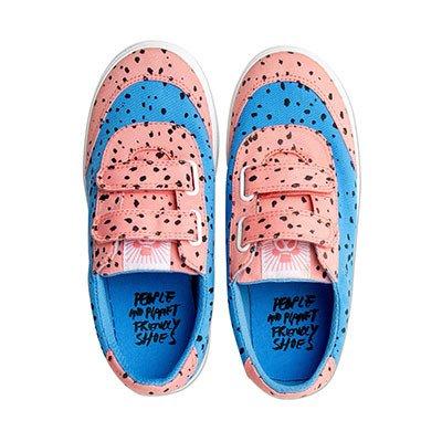 mini rodini sneakers blårosa