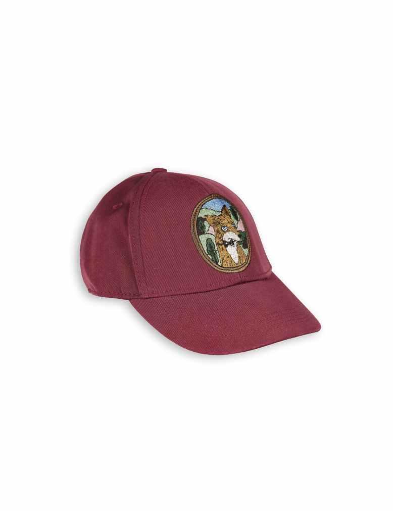 1776511043 1 mini rodini fox embroidery cap burgundy