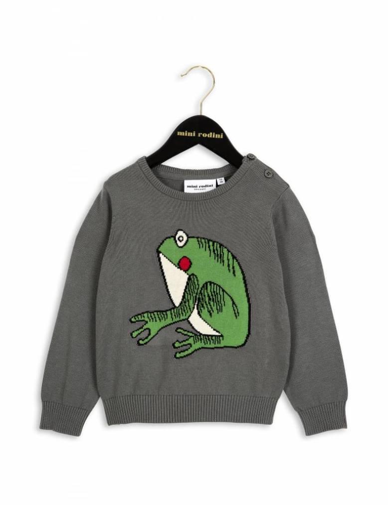 mini-rodini-mini-rodini-frog-knit-sweater-grey