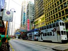 ::double decker trams::