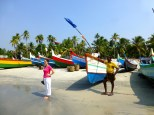 Arabian Sea fishing boats