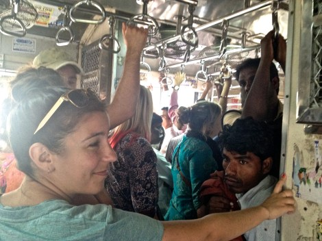 ::Indian trains, not crowded::