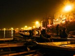 ::boats on the Ganges::