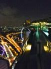 ::rooftop infinity pool at marina bay sands::