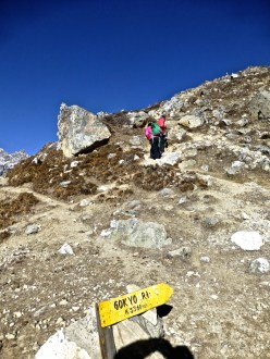 ::beginning of Gokyo Ri::