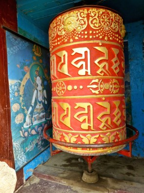::Tibetan prayer wheels::