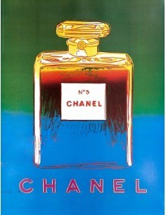 11a last few chanel no5 andy warhol poster pink and pink unframed back in stock
